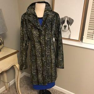 Arden B faux fur coat
